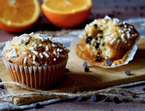 Muffin al Cioccolato e Arance