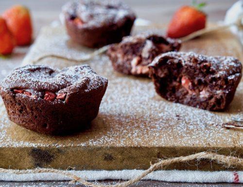 Tortini al Cioccolato e Fragole