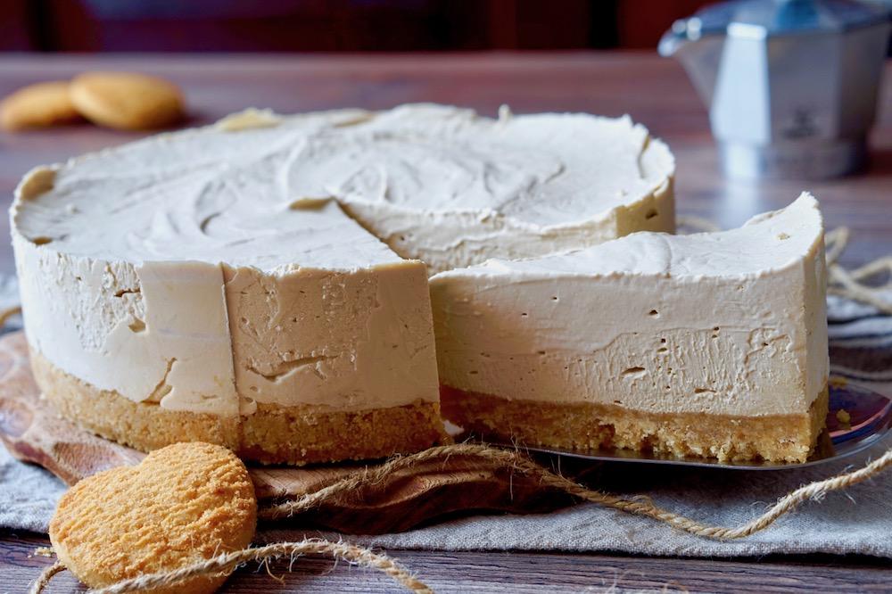 Cheesecake Al Caffè Senza Cottura 180c Di Dolcezza
