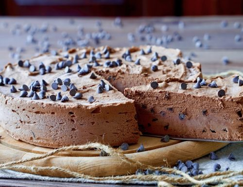 Torta Gelato al Cioccolato