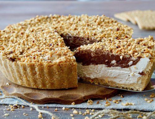 Crostata Fredda al Caffè e Nutella