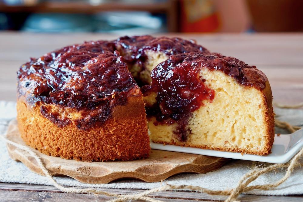 Torta Al Mascarpone E Marmellata 180c Di Dolcezza