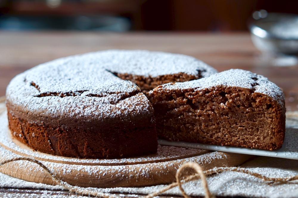 Torta Soffice con Farina di Castagne