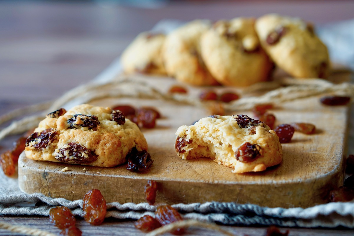 Biscotti Della Nonna all'uvetta