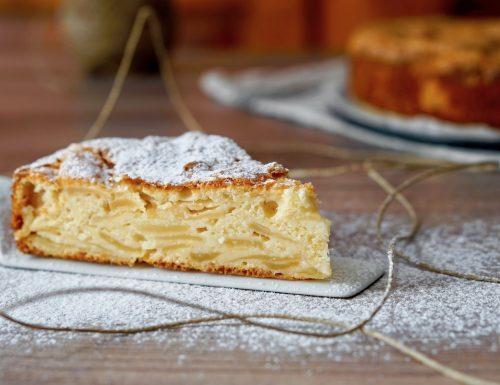 Torta di Mele e Mandorle Senza Grassi