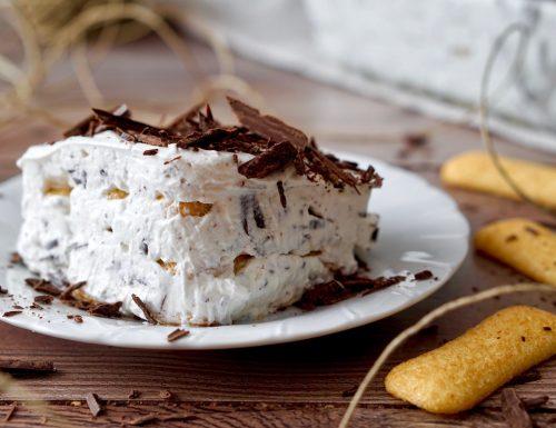 Semifreddo di Pavesini al Cioccolato
