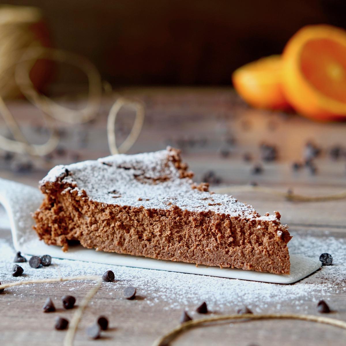 Torta al Cioccolato Ricotta e Arancia