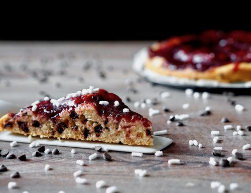Crostata Morbida al Cioccolato e Marmellata
