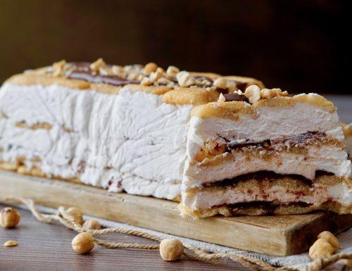 Semifreddo Pavesini, Ricotta e Nutella