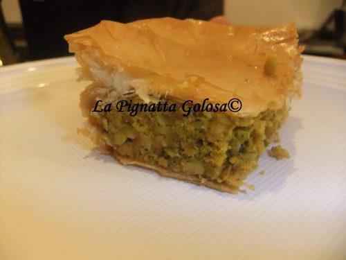 Baklawa – Torta di Pistacchi