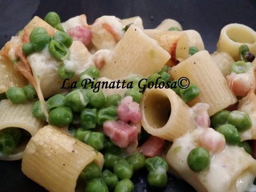 Pasta al Forno con Piselli e Pancetta
