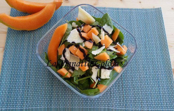 Insalatona al Melone e Parmigiano