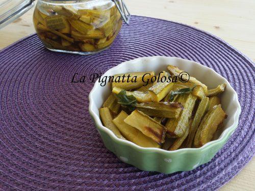Zucchine in Carpione Light