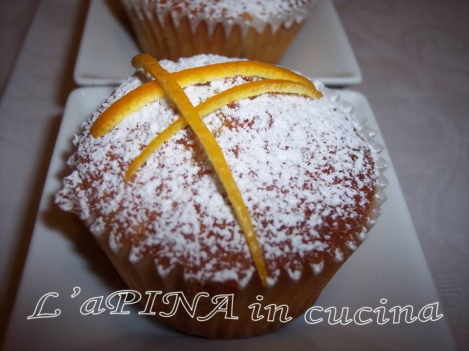 Muffin arancia e cioccolato 1