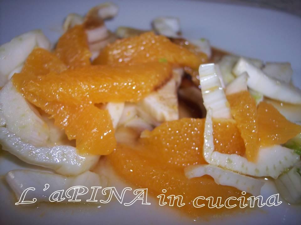 Insalata di finocchi e arance 3 - L'aPINA in cucina