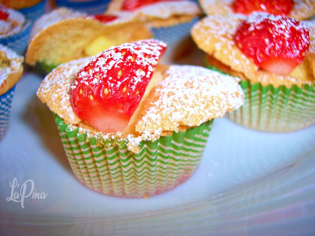 Tortine fragole e crema….come farfalle! 6