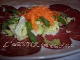 Carpaccio di bresaola con insalatina 5