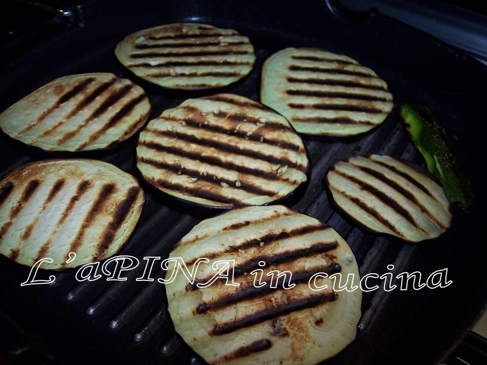 Zucchine melanzane funghi grigliati...ricetta passo passo