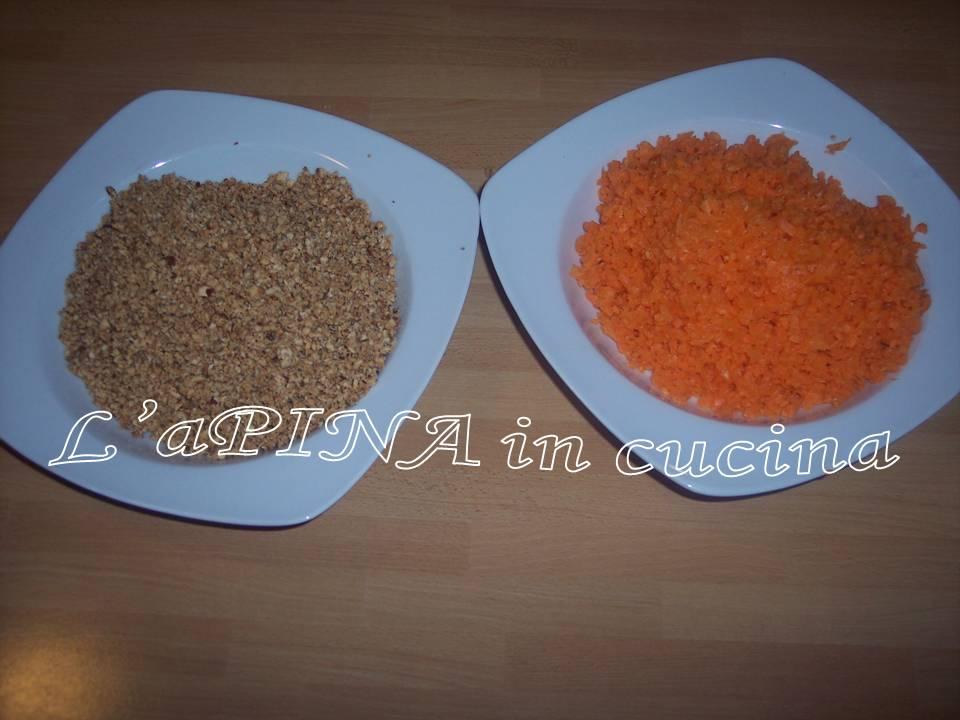 Torta carote e nocciole 1