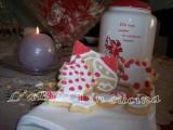 Biscotti natalizi 3 - pasta frolla solo con albumi - ghiaccia ricetta