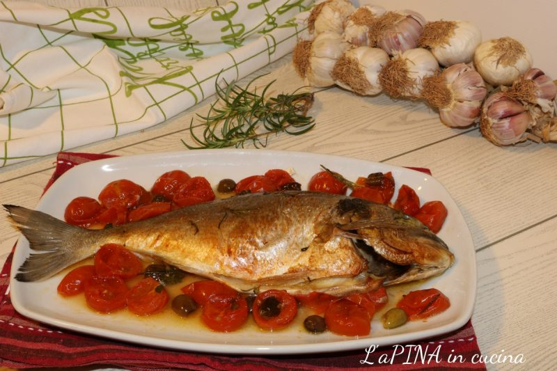 Orata all'acqua pazza