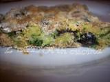 Tortino di alici e zucchine...ricetta facile e veloce...antipasto o secondo...ricetta passo passo
