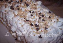 Semifreddo al torrone – ricetta riciclo pandoro