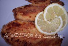 Cotoletta di pollo leggera al forno