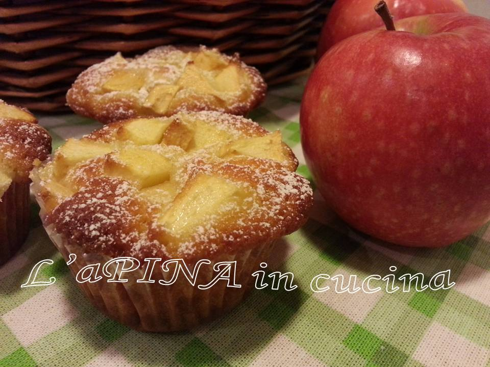 Muffin alle mele....che merenda!