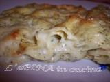 Lasagna al pesto genovese - ricetta passo passo - L'aPINA in cucina