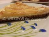 Cheesecake ricotta e pere - L'aPINA in cucina
