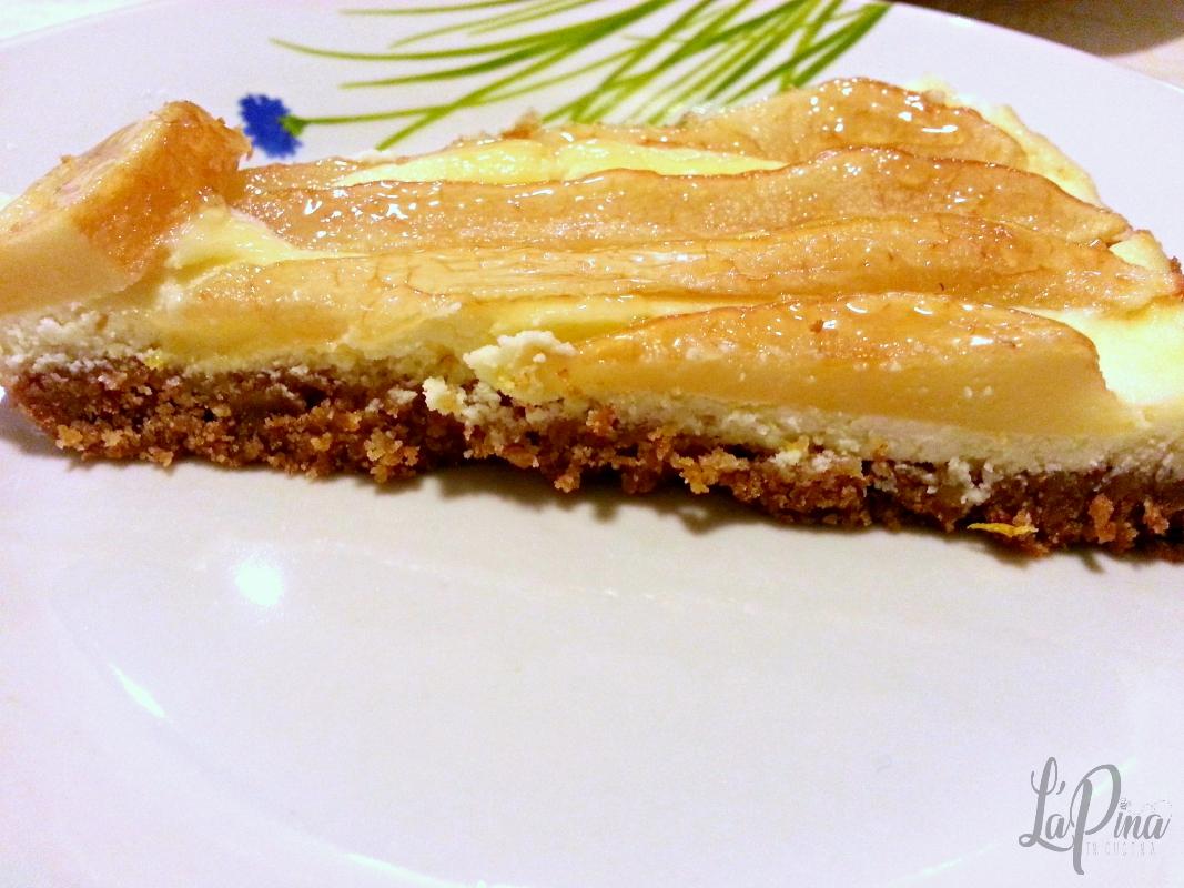 Cheesecake ricotta e pere 2