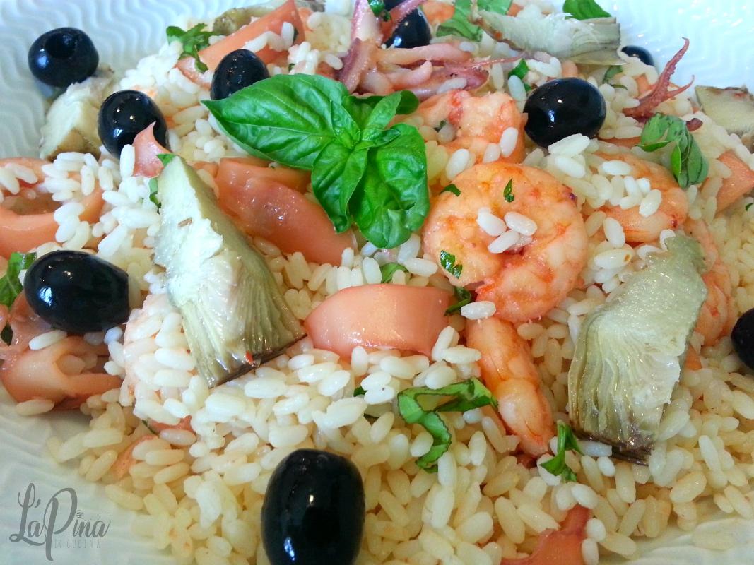 Insalata di riso marinara 4