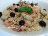 Insalata di riso marinara...ricetta passo passo - L'aPINA in cucina