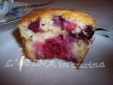Muffin integrali ai frutti di bosco .- L'aPINA in cucina