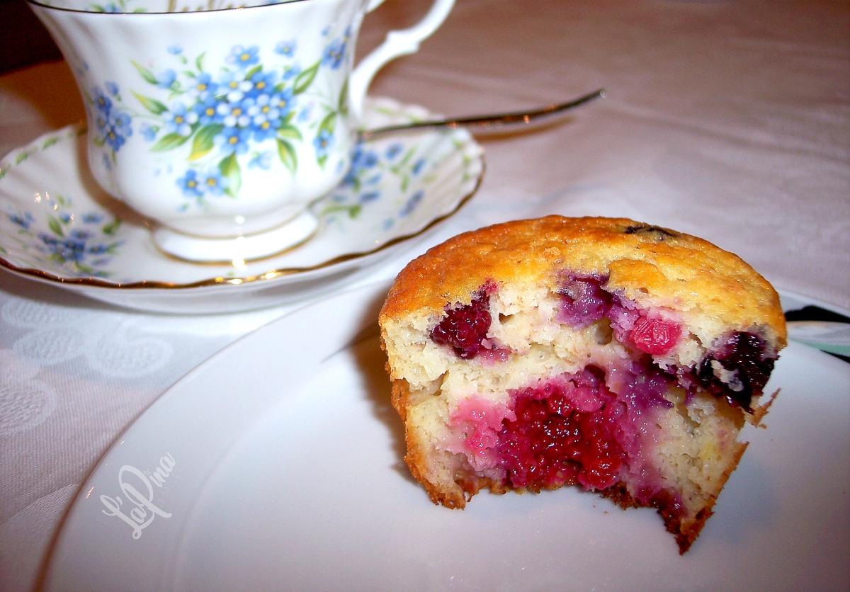 Muffin integrali con i frutti di bosco 4_
