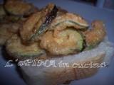Zucchine fritte....ricetta passo passo....L'aPINA in cucina