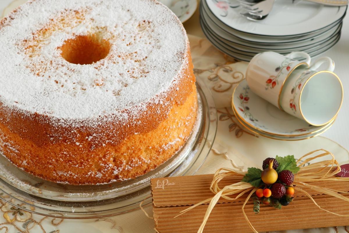 Chiffon Cake....una torta divina!