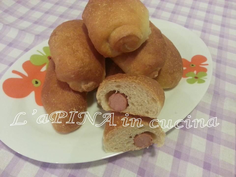 Hot dog con lievito madre - L'aPINA in cucina
