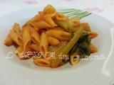 Pasta sedano e pomodoro - primo pugliese - L'aPINA in cucina