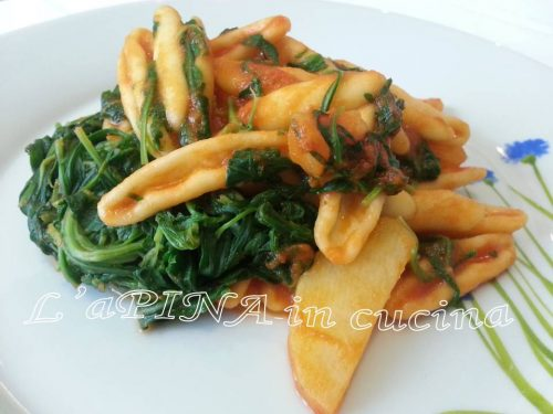 Cicatelli rucola e patate