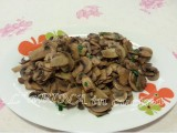 Funghi trifolati - ricetta facile vegetariana - L'aPINA in cucina
