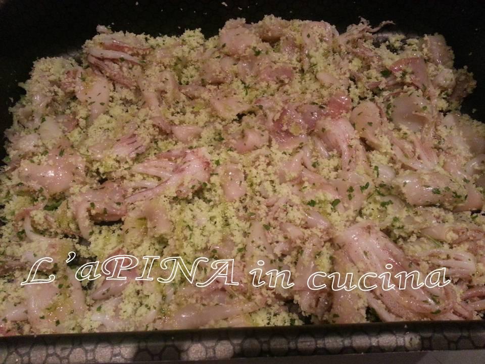 Moscardini croccanti al forno -ricetta passo passo - L'aPINA in cucina