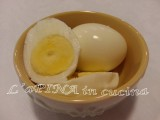 Uova sode perfette - ricetta passo passo - L'aPINA in cucina