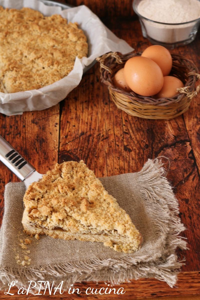 Sbrisolona semintegrale con marmellata di fichi e zucchero di canna 2