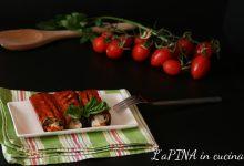 Involtini di melanzane, ricotta e basilico