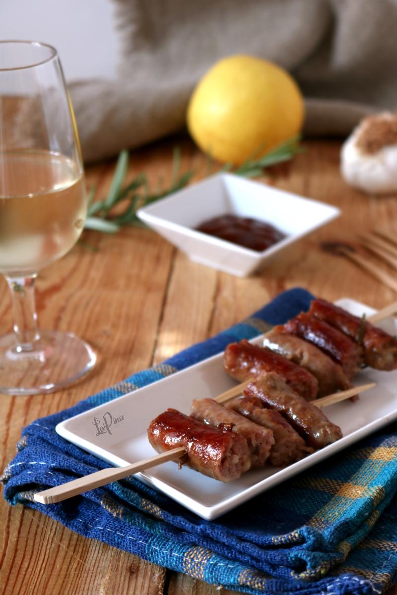 Salsiccia al vino bianco con rosmarino 3