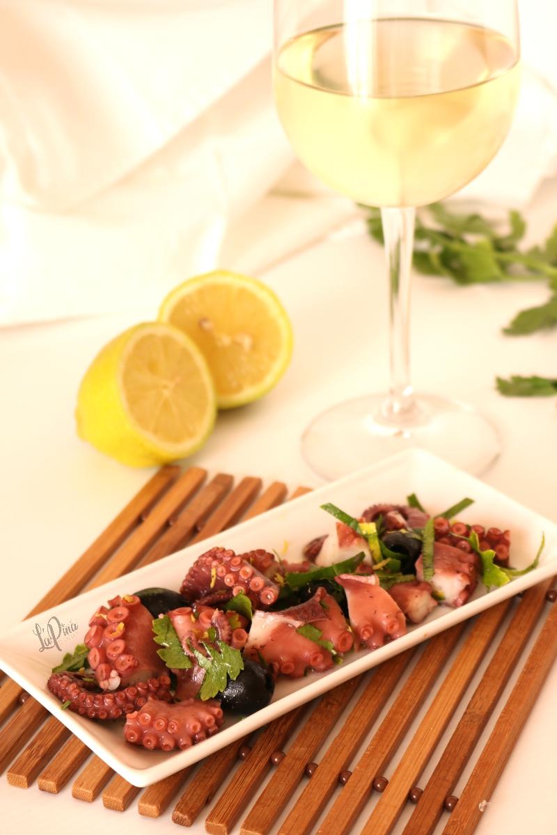 Insalata di polpo e olive nere 2