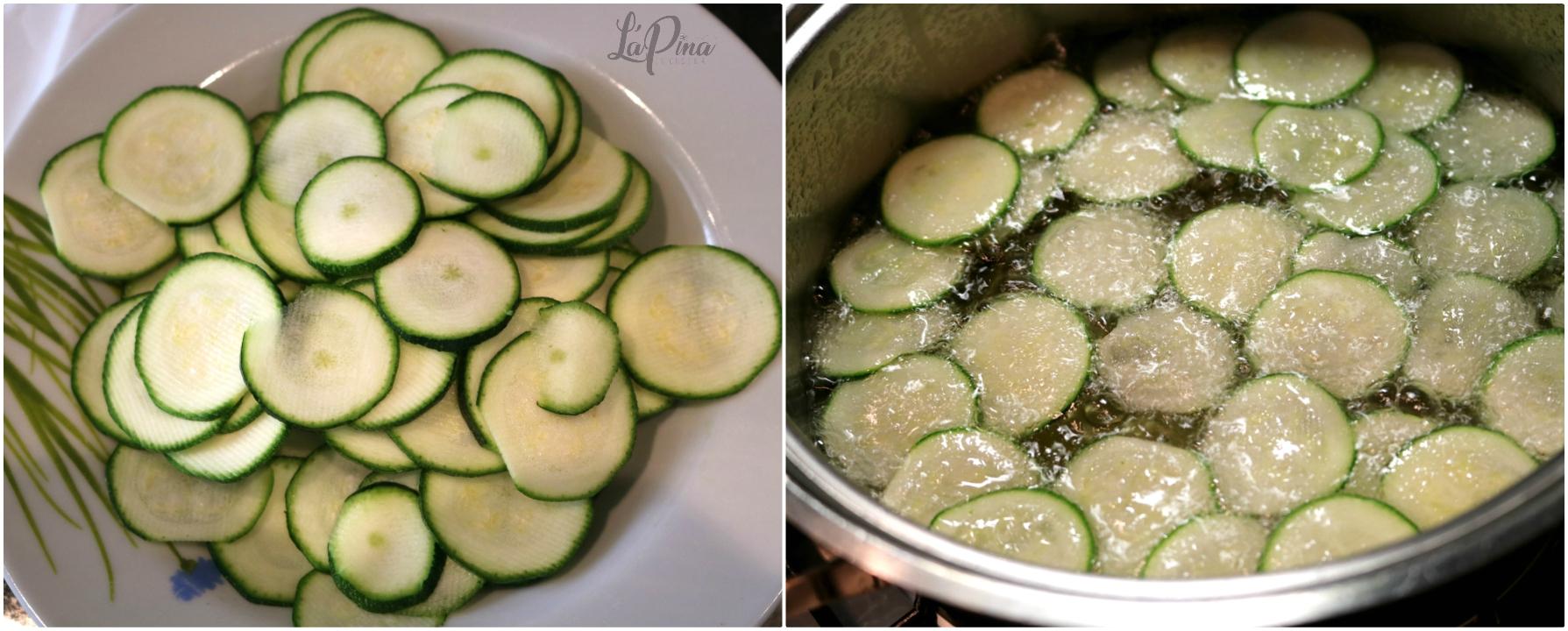 Zucchine alla scapece collage