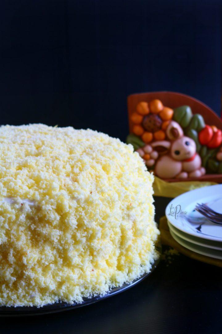 Torta mimosa all'ananas 2_L'aPina in cucina